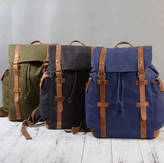 EAZO Military Style Canvas Backpack