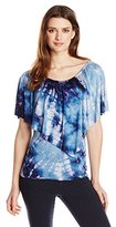 Gypsy 05 Women's Jersey Convertible Flounce Top
