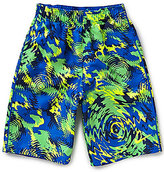 Nike Big Boys 8-20 Watercamo Printed Swim Trunks