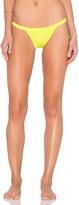 Milly Italian Solid Cheeky Bikini Bottom
