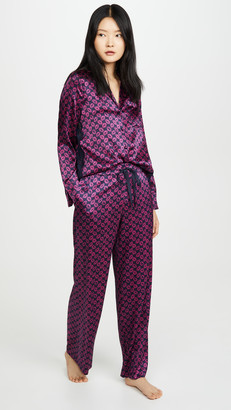 CAMI NYC Karina Long PJ Set