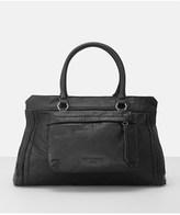Liebeskind Berlin Lome Leather Oversize Pocket Satchel.