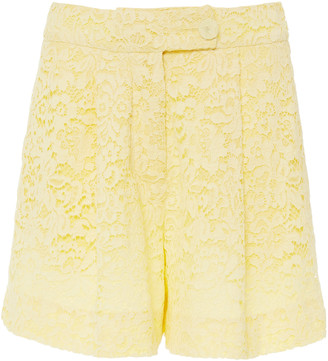 Erdem Howard Guipure Lace Shorts