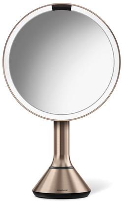 """Simplehuman 8"""" Sensor Makeup Mirror With Brightness Control"""