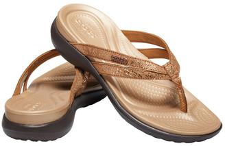 Crocs Capri Strappy Flip Sandal