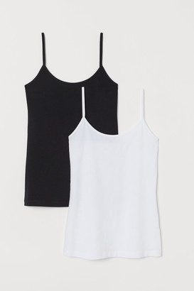 H&M 2-pack Jersey Tank Tops