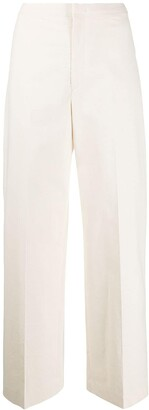 Isabel Marant Straight Wide Trousers