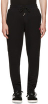 McQ Black Swallow Badge Lounge Pants