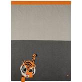 The Bonnie MobGrey Tiger Jacquard Baby Blanket