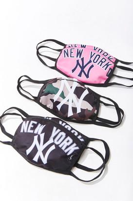 Forever 21 New York Face Mask Set - Assorted 2 Pack