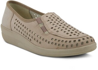 Spring Step Twila Perforated Leather Loafer