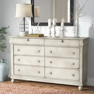 Charlton Home Warlick 8 Drawer Double Dresser Charlton Home