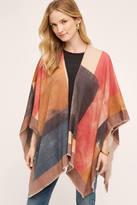 Anthropologie Plaid Kimono