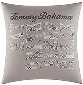 Tommy Bahama Sandy Coast Logo Square Pillow