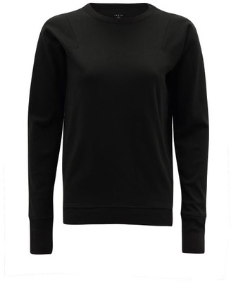 Lunya - Long-sleeved Organic Pima-cotton Pyjama Top - Womens - Black