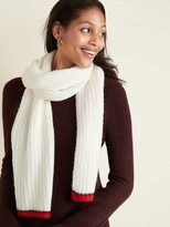 Old Navy Soft-Brushed Shaker-Stitch Scarf for Women