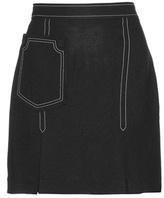 Edun Crêpe Miniskirt