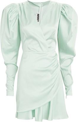 Rotate by Birger Christensen Aiken Puff-Sleeve Mini Dress