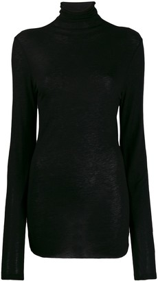 Ann Demeulemeester Turtleneck Slim-Fit Jumper