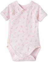 Petit Bateau Newborn baby girls print bodysuit