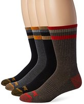 Timberland Men's 4 Pack Sriped Crew Sock