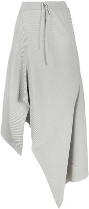 Marques Almeida Asymmetric Handkerchief Hem Knit Skirt