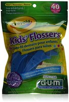 Crayola Butler Gum Dental Flossers For Kids - 40 Ea (Pack of 3)