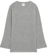 Madeleine Thompson Beryl Ribbed Cashmere Sweater - Stone