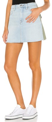 Frame Le Mini Skirt Cargo Mix