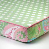 My Baby Sam Pixie Baby Paisley Crib Sheet