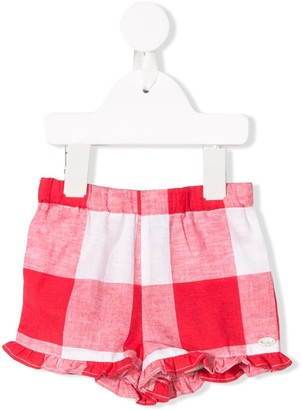 Tartine et Chocolat Cuba Checked Shorts