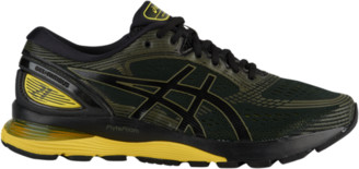 Asics GEL-Nimbus 21 Running Shoes - Black / Neon Spark