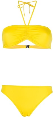 Zadig & Voltaire Ruched Detail Bikini Set