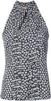Michael Kors floral print blouse