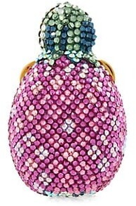 Judith Leiber Pineapple Sugar Loaf Crystal Pillbox