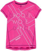Reebok Girls Graphic T-Shirt-Preschool