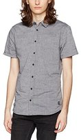 Blend of America Men's Short Sleeve Casual Shirt