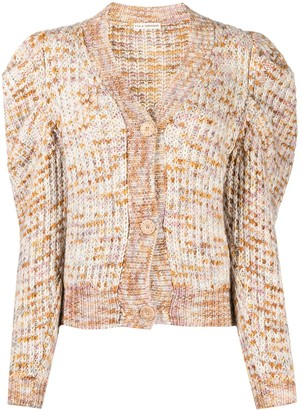 Ulla Johnson Fiora space-dye knit cardigan