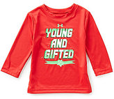 Under Armour Baby Boys 12-24 Months Christmas Young And Gifted Long-Sleeve Tee