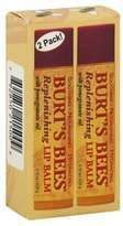 Burt's Bees 2-Pack Replenishing .15 oz. Lip Balm with Pomegranate Oil