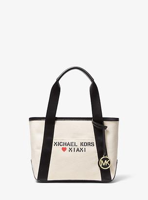 Michael Kors The Michael Small Canvas Miami Tote Bag