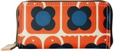 Orla Kiely Love Birds Print Big Zip Wallet Wallet Handbags