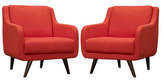Modway Verve Armchairs (Set of 2)
