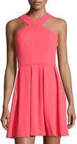 Cynthia Steffe Eden Cross-Front Dress, Pink