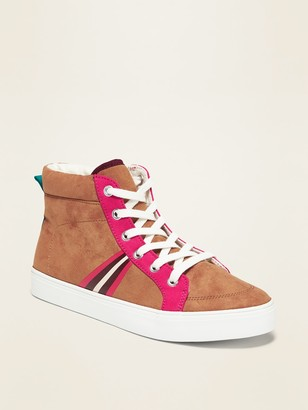 Old Navy Faux-Suede High-Tops for Girls