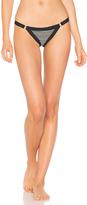 Wildfox Couture Yarn Dye Pointelle Sonia Brazilian Bottom
