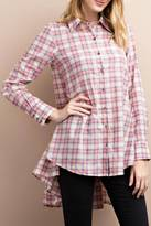 Easel Peachy Keen Plaid