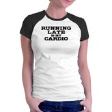 Eddany Running late is my cardio Raglan Women T-Shirt