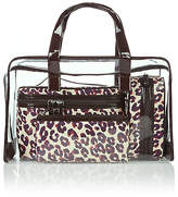 M&S Collection 4 Leopard Print Cosmetic Bag Set