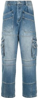 Ground Zero Straight Cargo Jeans